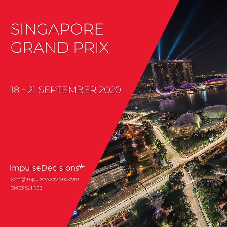 Singapore Grand Prix Experience